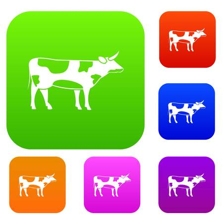 Switzerland cow set collection