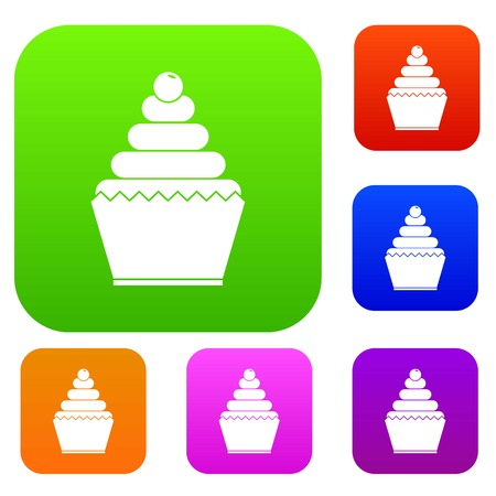 Cupcake set collection