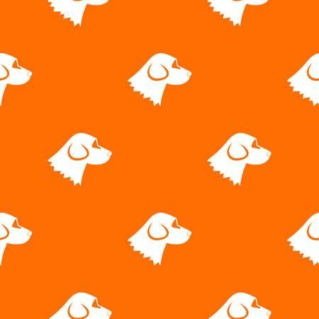 Beagle dog pattern seamless
