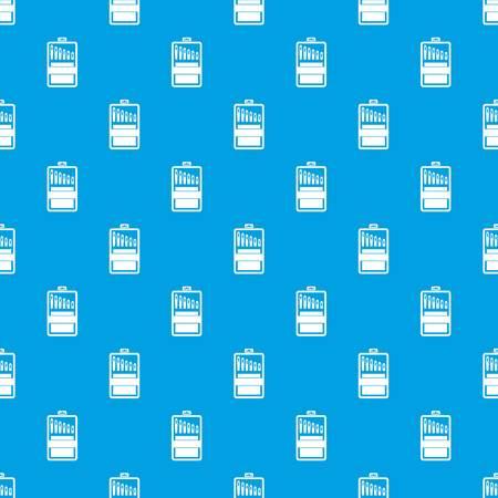 Set of needles pattern seamless blue Illustration