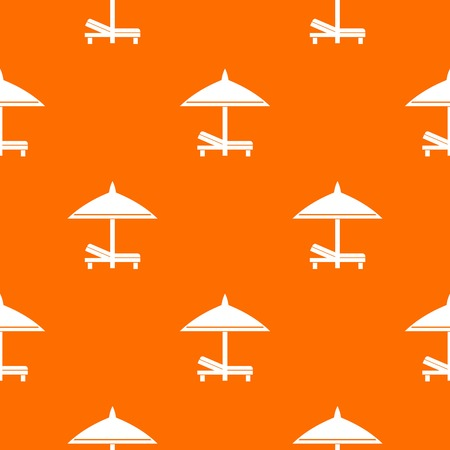 brolly: Bench and umbrella pattern seamless