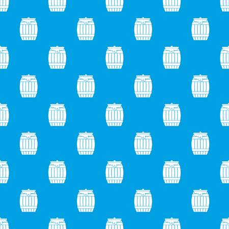 mead: Honey keg pattern seamless blue