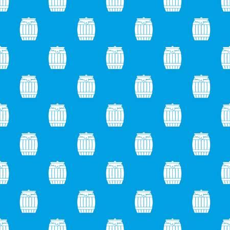 Honey keg pattern seamless blue