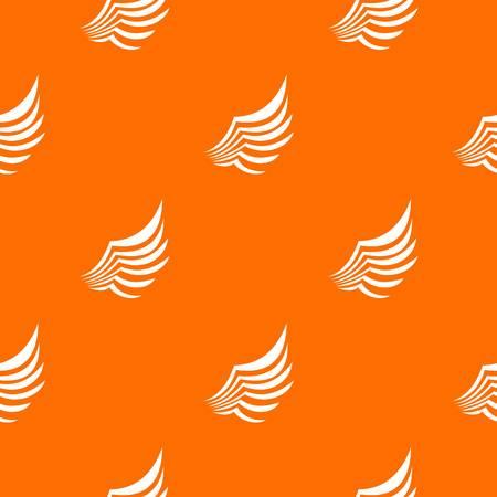Wing pattern seamless Illustration