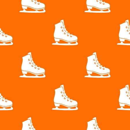 Skates pattern Illustration