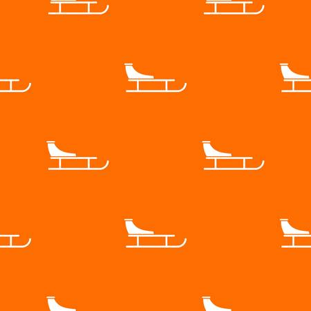 Sled pattern seamless background