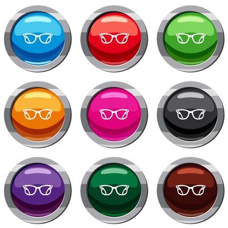 Eyeglasses set 9 collection