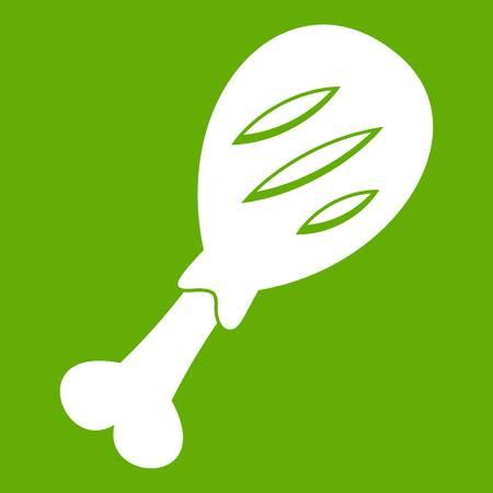 Leg of pork icon green
