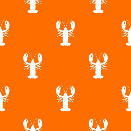 crawfish: Crayfish pattern seamless