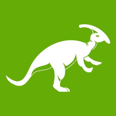 Parazavrolofus icon green Illusztráció