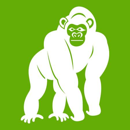 Bonobo icon green