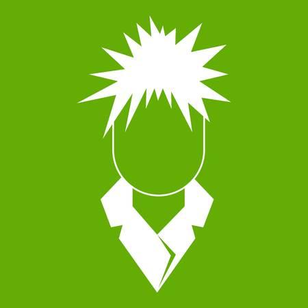 Singer icon green
