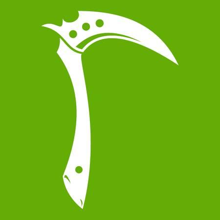 Kama weapon icon green