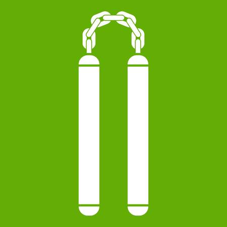 Nunchaku icon green
