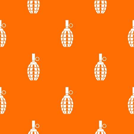 Grenade pattern seamless Illustration