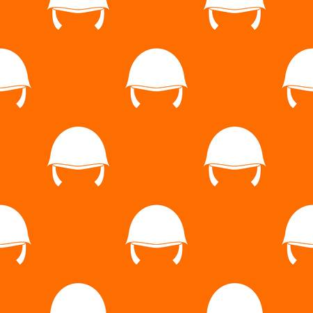 Military helmet pattern seamless