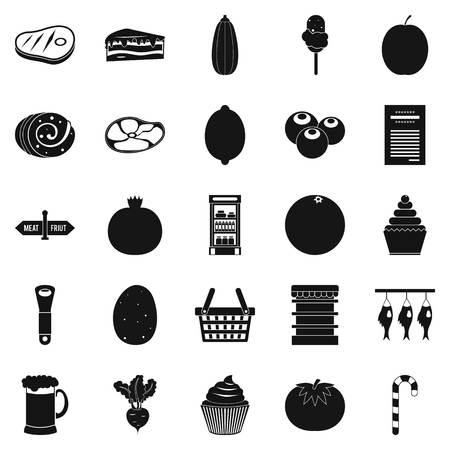 kine: Kine icons set, simple style