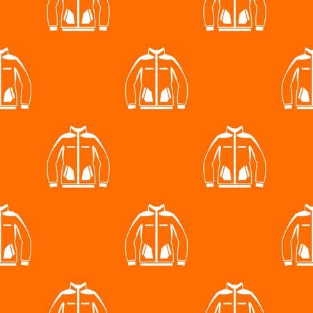 Men winter jacket pattern seamless Vector illustration. Illustration