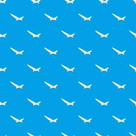 Reclinermusterwiederholung in der blauen Farbe für irgendeine geometrische Illustration des Designs Standard-Bild - 84363846