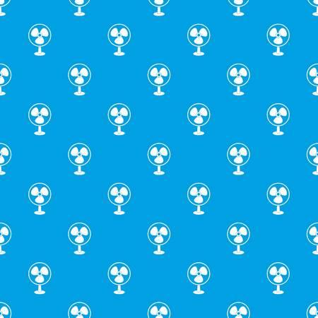 Ventilator pattern seamless blue