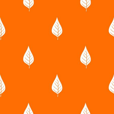Apple tree leaf pattern seamless