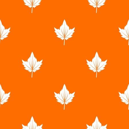 Currant tree leaf pattern seamless Illustration