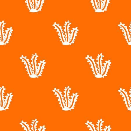 Seaweed pattern seamless