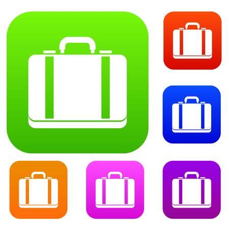 Suitcase set collection