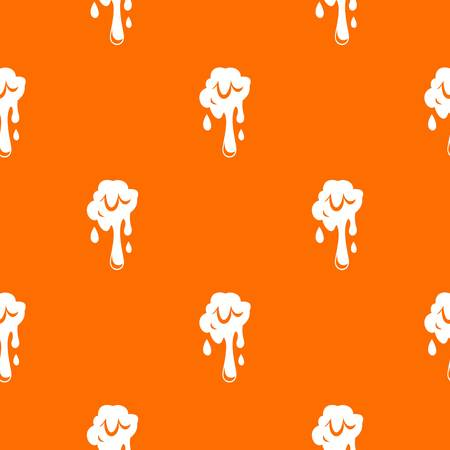 Dripping slime pattern seamless