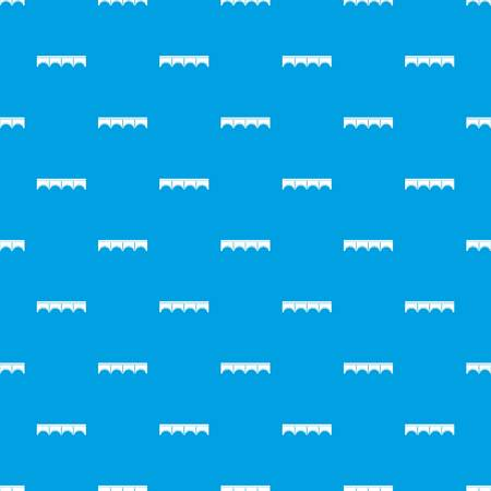 balustrade: Direct bridge pattern seamless blue