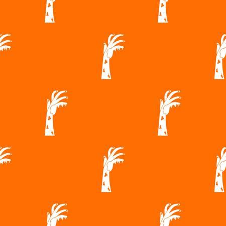 Zombie hand pattern seamless