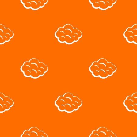 Summer cloud pattern seamless