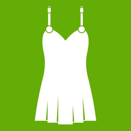 Nightdress icon green