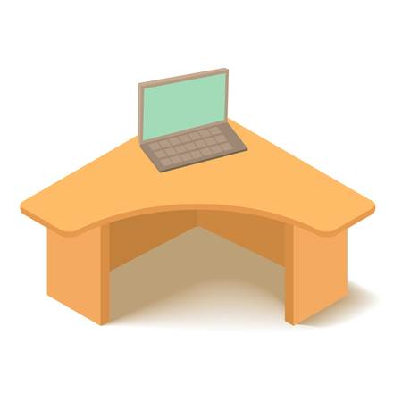 firma: Table icon. Isometric illustration of table vector icon for web
