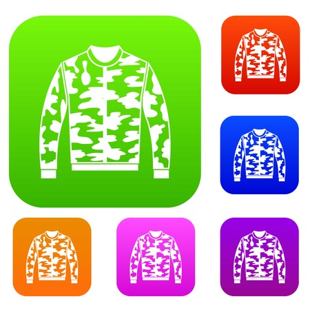Camouflage jacket set collection