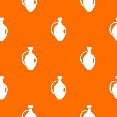 earthenware: Clay jug pattern seamless