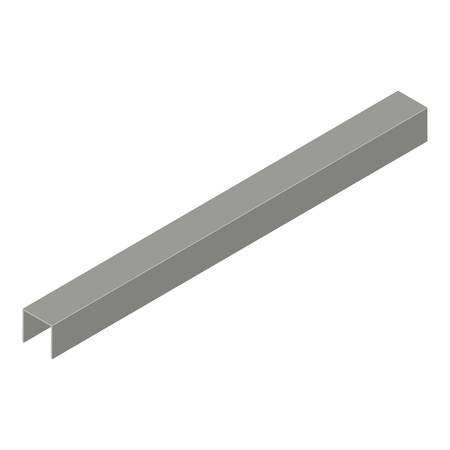 Profile plasterboard icon, isometric 3d style