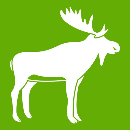 Deer icon green