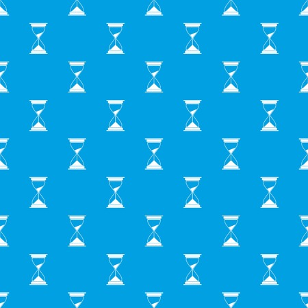 numeric: Watch pattern repeat seamless in blue color for any design. Vector geometric illustration
