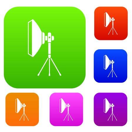 Studio lighting equipment set collection