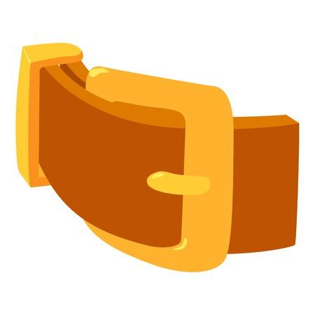 Women belt icon, isometric 3d style Illustration