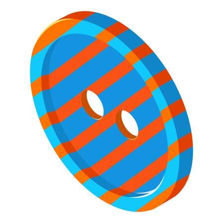 Gestreept knooppictogram, isometrische 3d stijl