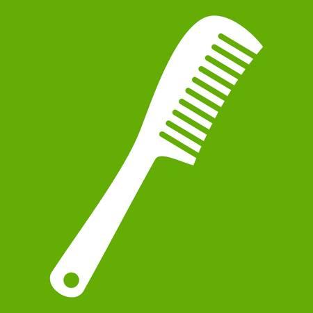 Comb icon green