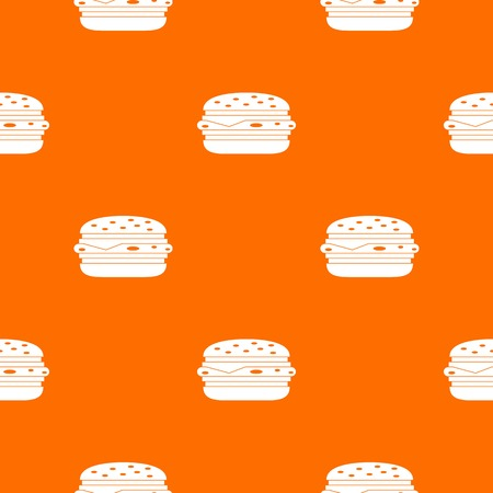 Burger pattern seamless