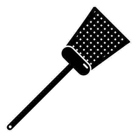 Swatter icon, simple black style Illustration