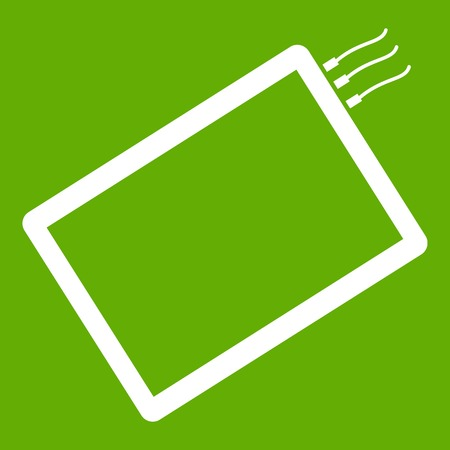 One phone icon green