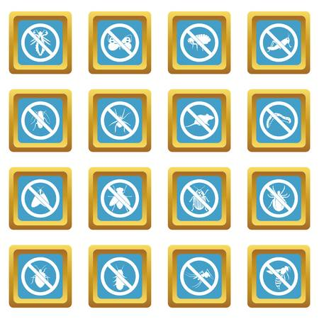 No insect sign icons azure