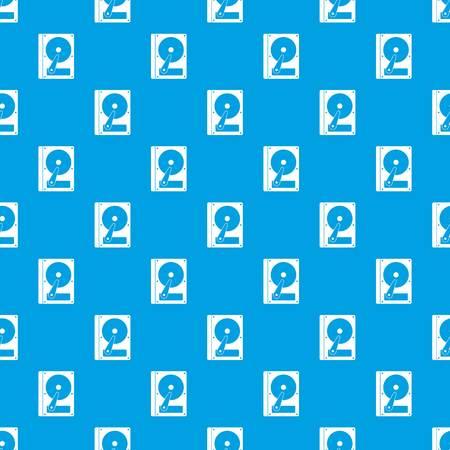HDD pattern seamless blue Illustration
