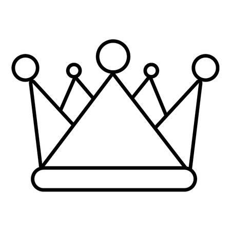 Kievan rus crown icon. Outline illustration of kievan rus crown vector icon for web
