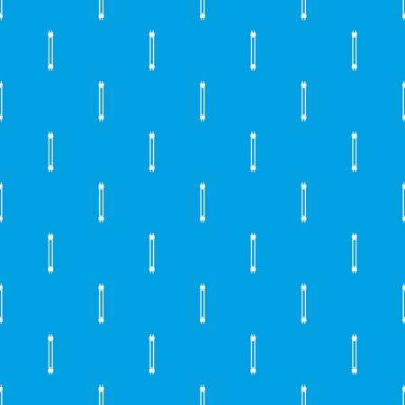Fluorescence lamp pattern repeat seamless in blue color for any design. Vector geometric illustration Illustration